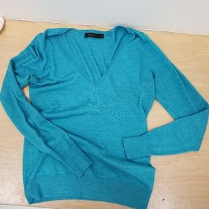 ❤THE LIMITED MARINO WOOL BLEND V-NECK TOP/SWEATER